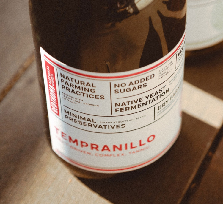 Great natural wine, no dirty secrets.